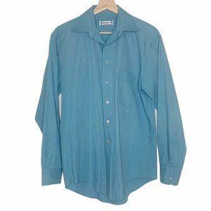 Yves Saint Laurent Vintage Blue Button Down Shirt